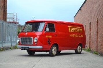 Fiat 238 Ferrari Van