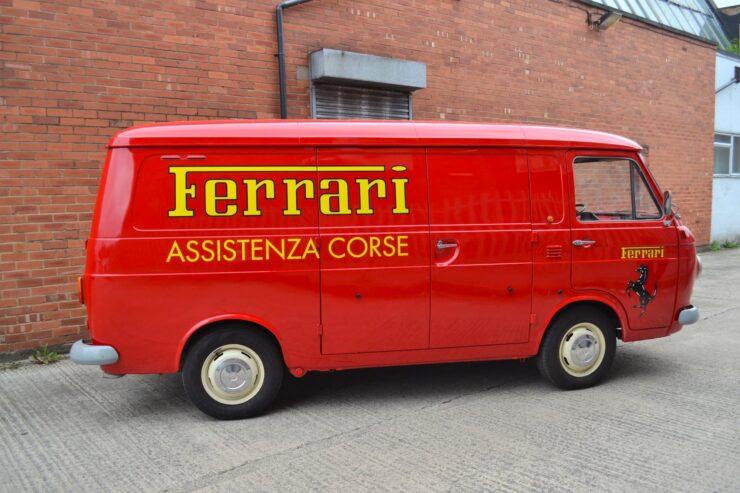 Fiat 238 Ferrari Van 8