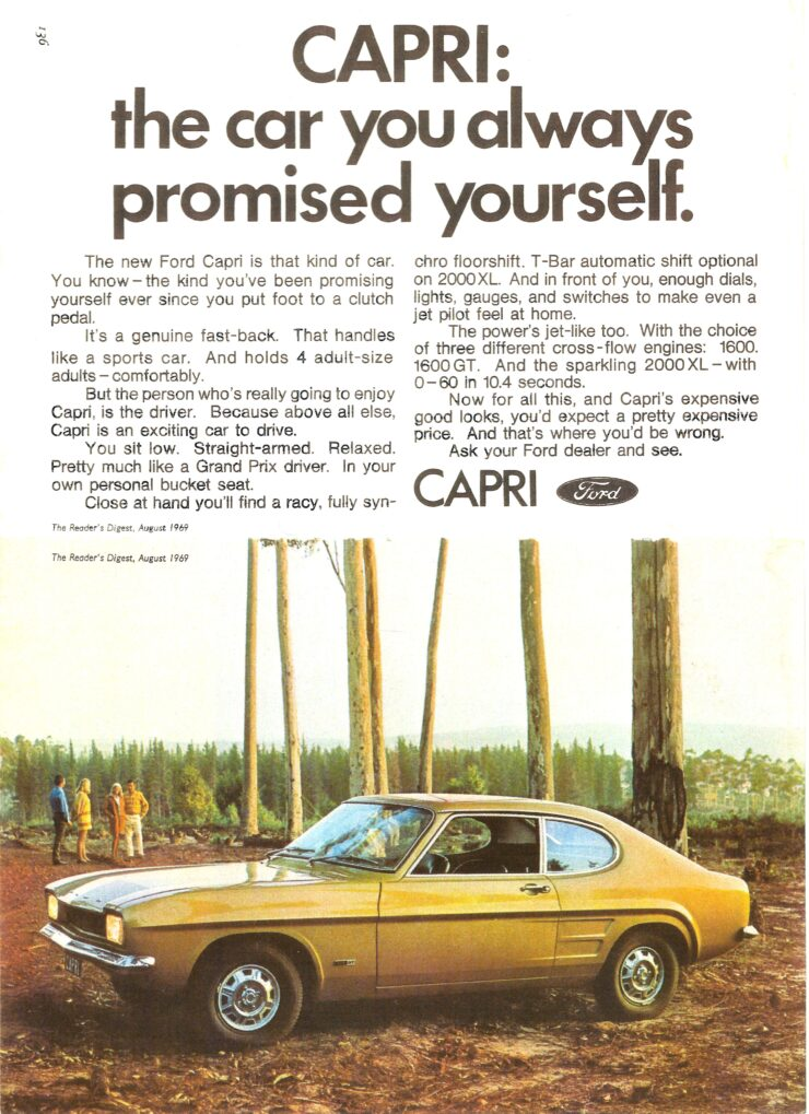 Ford Capri The Car You Always Promised Yourself