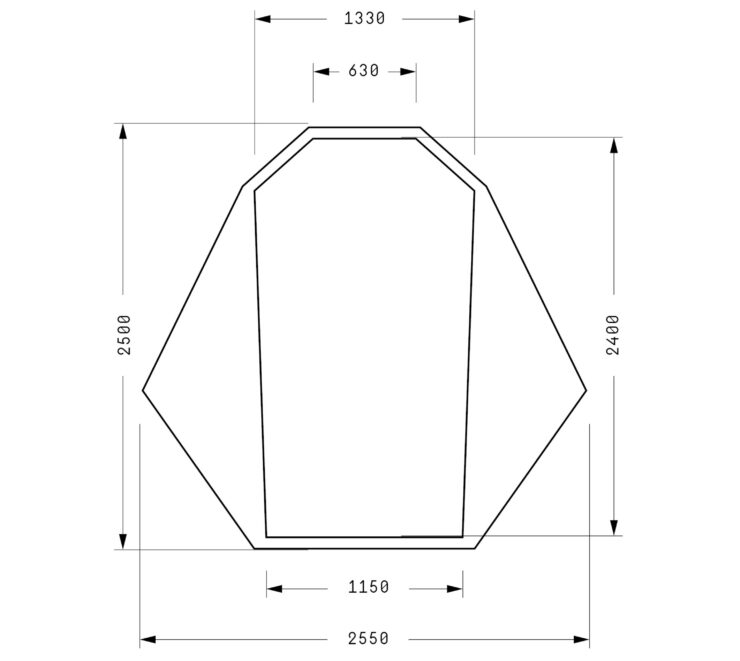 Heimplanet Fistral Tent Dimensions