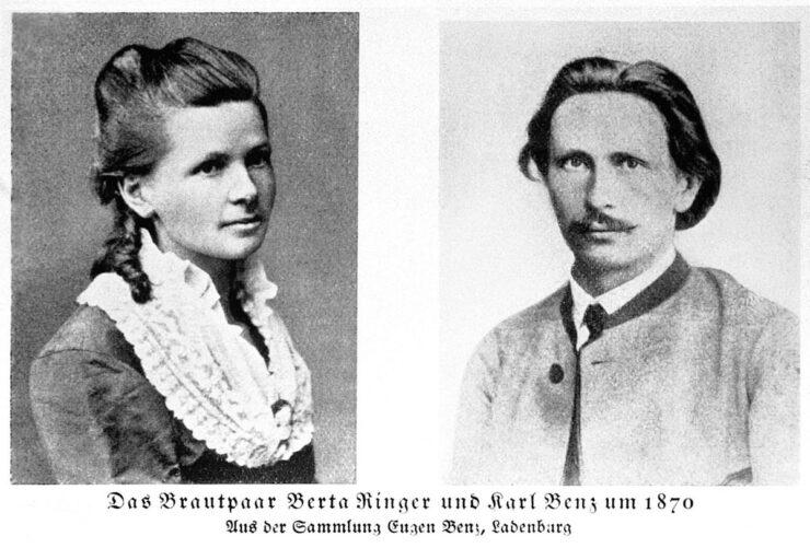 Karl and Bertha Benz