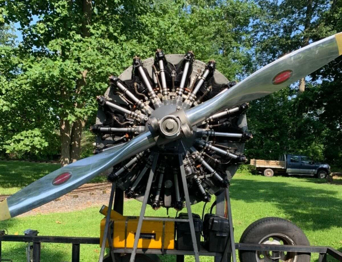 Lycoming R-680 Radial Aircraft Engine