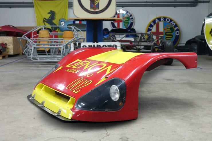 Spice Engineering Ferrari SE87C IMSA Front End 6