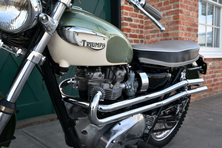 Triumph Bonneville Bud Ekins Steve McQueen 2
