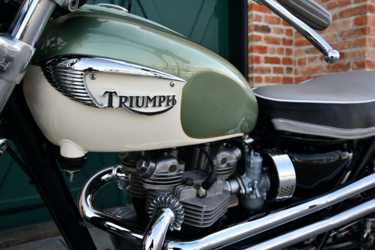 Triumph Bonneville Bud Ekins Steve McQueen 6