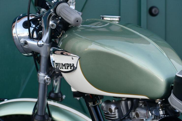 Triumph Bonneville Bud Ekins Steve McQueen 7