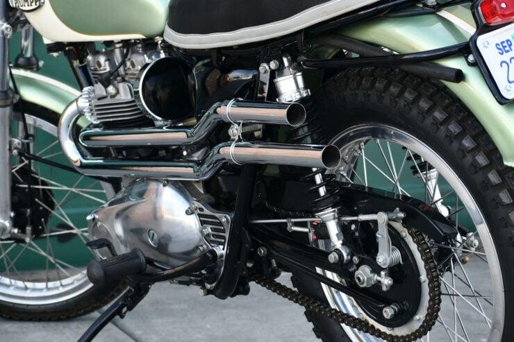 Triumph Bonneville Bud Ekins Steve McQueen 8