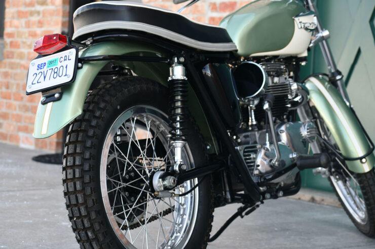 Triumph Bonneville Bud Ekins Steve McQueen 9