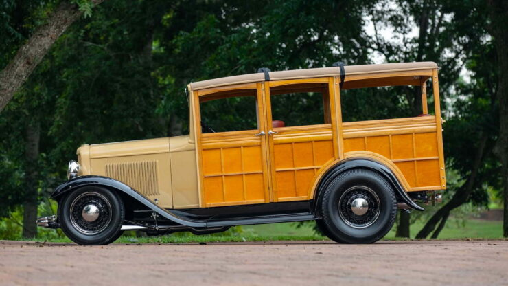 1932 Ford Supercharged V8 Woodie Surf Wagon 1