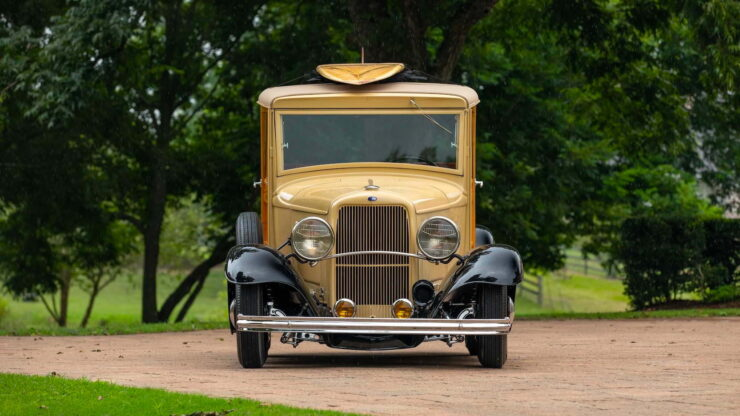 1932 Ford Supercharged V8 Woodie Surf Wagon 13