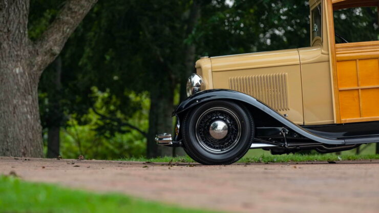 1932 Ford Supercharged V8 Woodie Surf Wagon 15