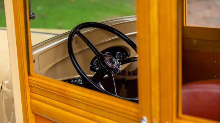 1932 Ford Supercharged V8 Woodie Surf Wagon 18