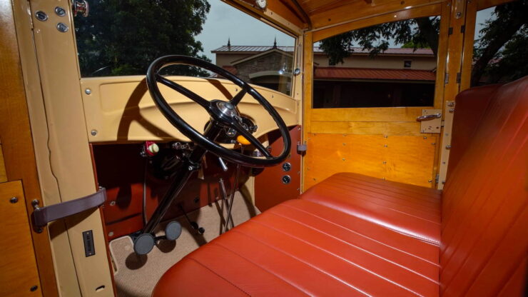1932 Ford Supercharged V8 Woodie Surf Wagon 3