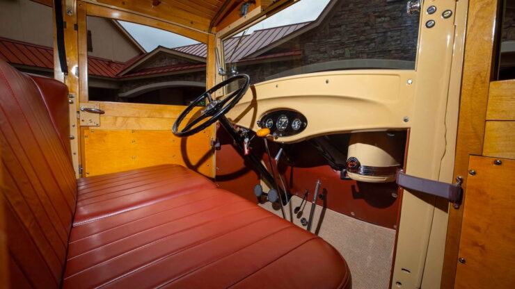 1932 Ford Supercharged V8 Woodie Surf Wagon 4