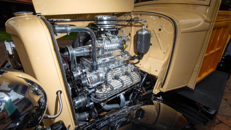1932 Ford Supercharged V8 Woodie Surf Wagon 5