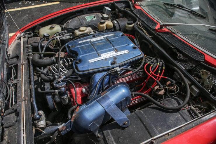 Alfa Romeo Montreal Engine