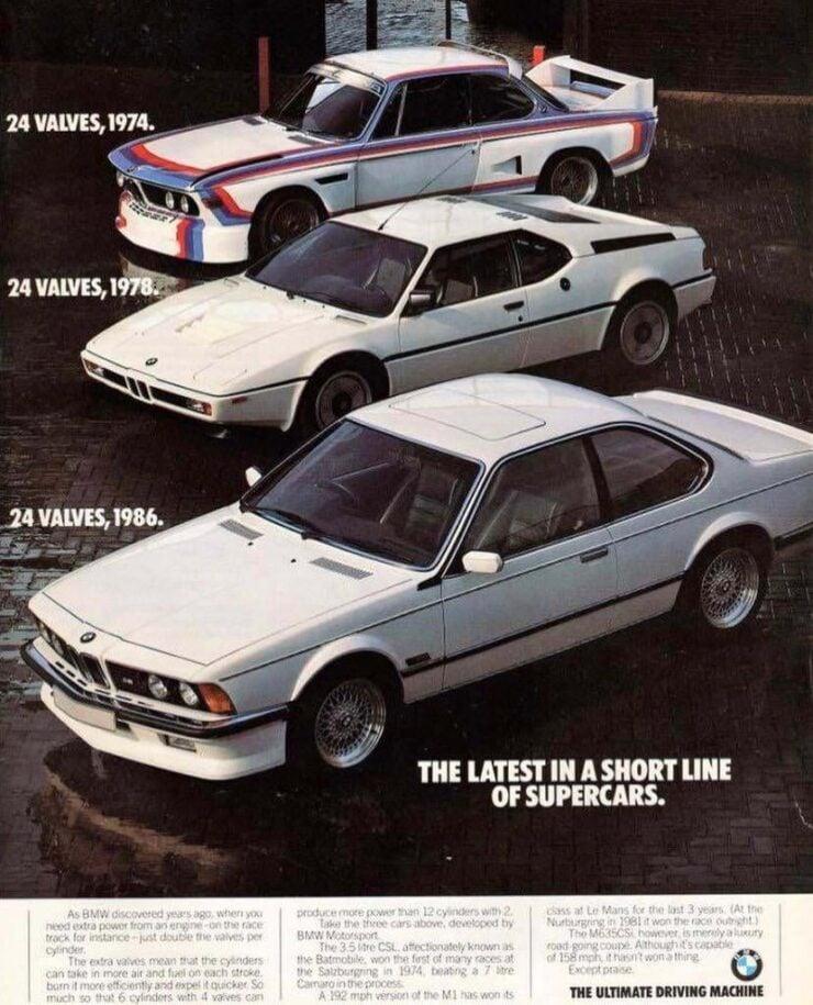 BMW M1 Cars