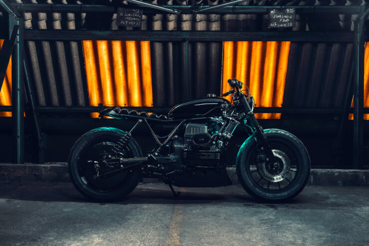 Black Dot Mark II Custom BMW K75 Blitz Motorcycles 1