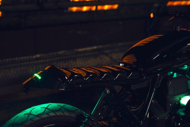 Black Dot Mark II Custom BMW K75 Blitz Motorcycles 3