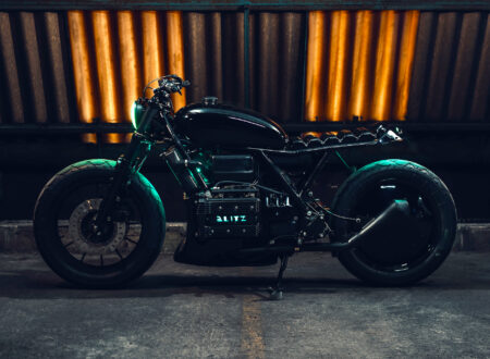 Black Dot Mark II Custom BMW K75 Blitz Motorcycles