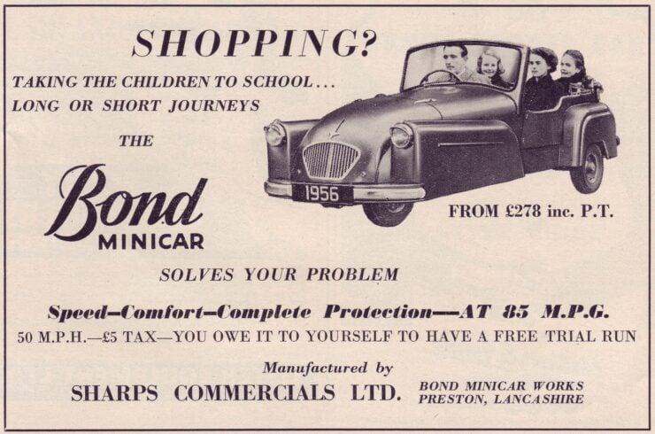 Bond Minicar Ad