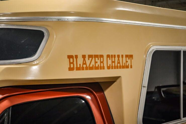 Chevrolet Blazer Chalet 20