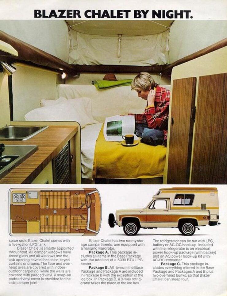 Chevrolet Blazer Chalet Ad 2