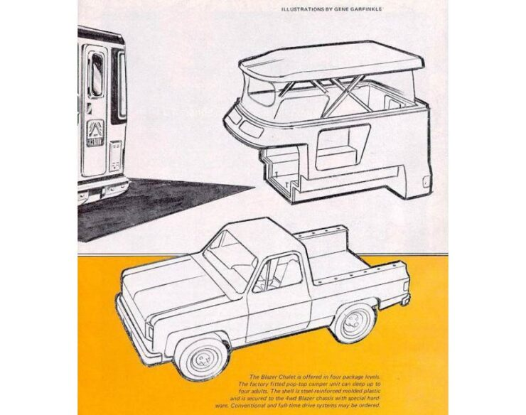 Chevrolet Blazer Chalet Construction