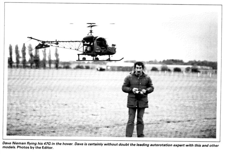 Dave Niemen Bell Helicopter Model
