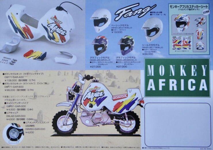 Honda Z50J Monkey Baja Africa Kit