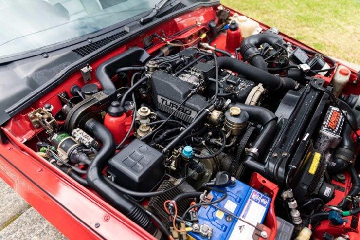 Isuzu Piazza Engine