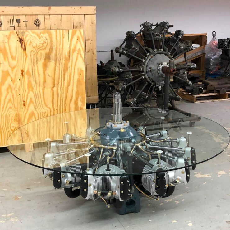 Jacobs Radial Engine Coffee Table 1