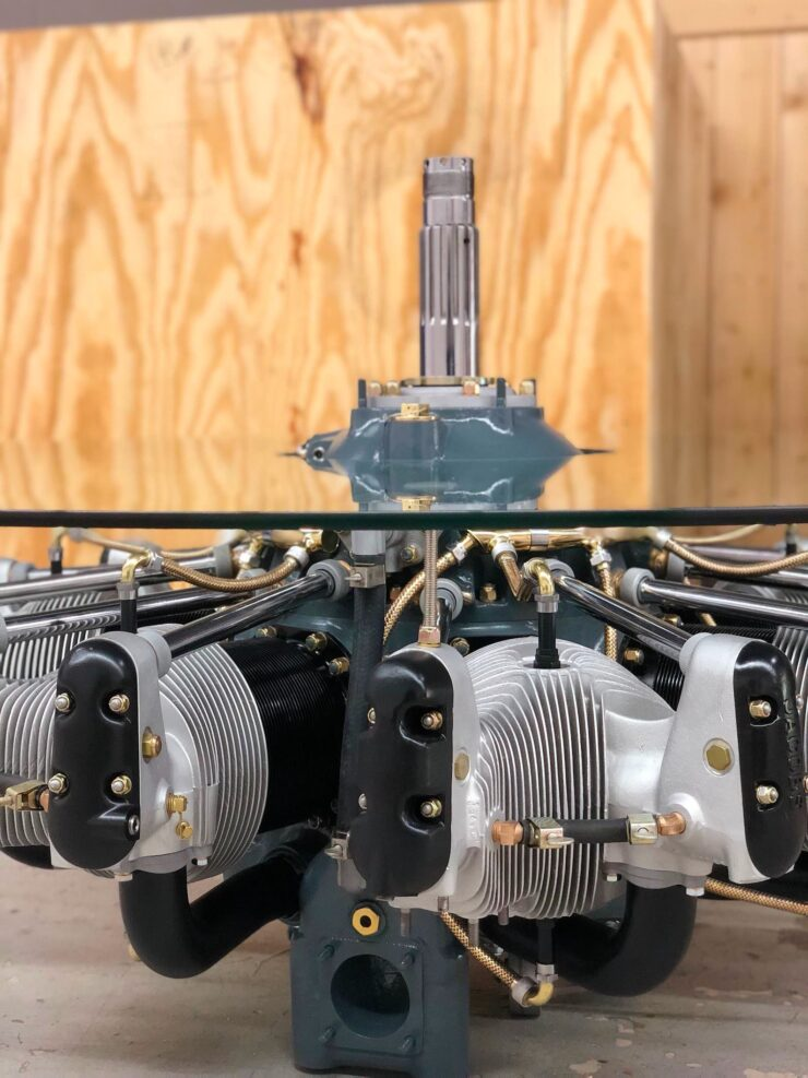 Jacobs Radial Engine Coffee Table 3