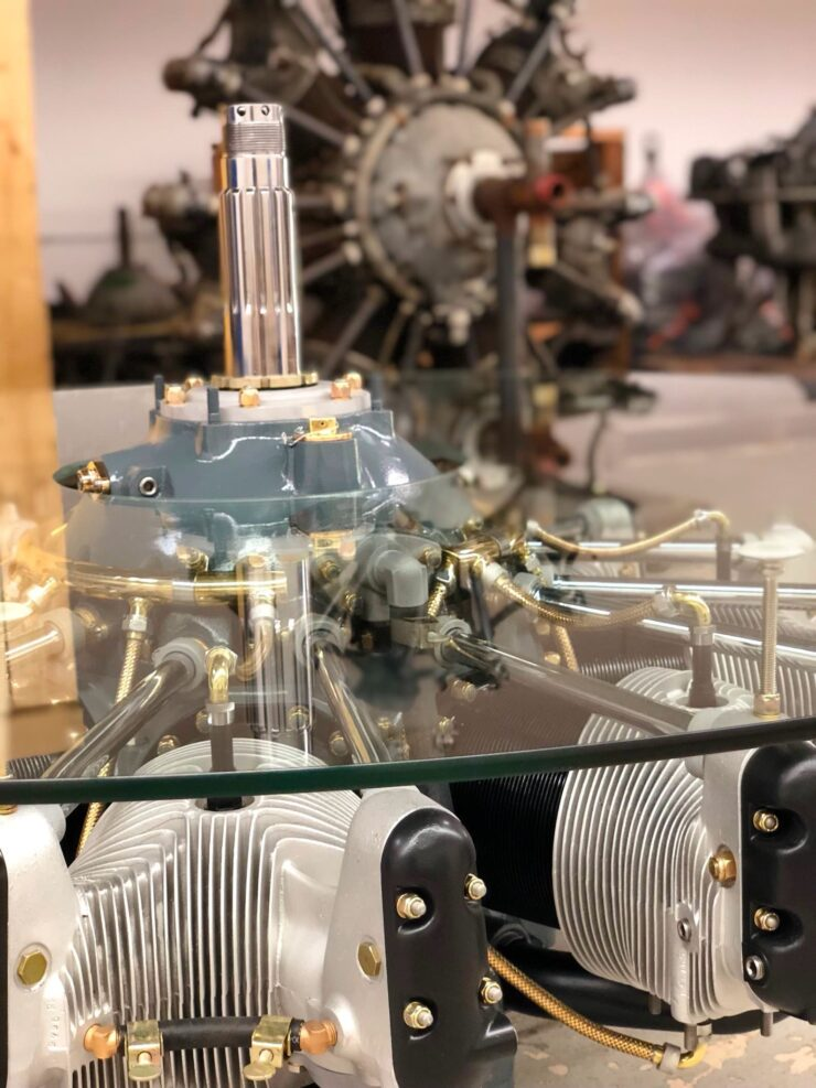 Jacobs Radial Engine Coffee Table 4