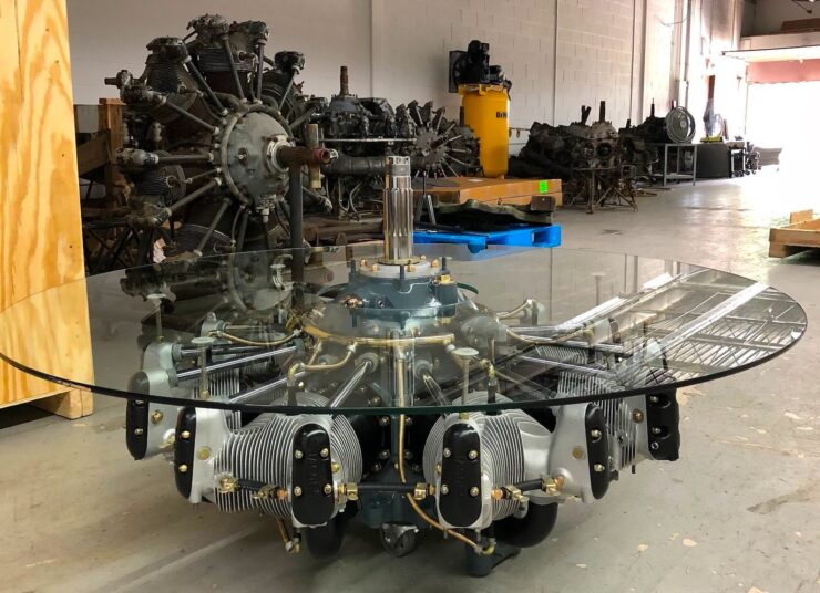 Jacobs Radial Engine Coffee Table