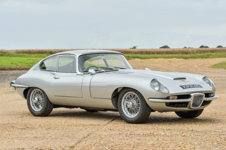 Jaguar E-Type By Frua And Italsuisse 1