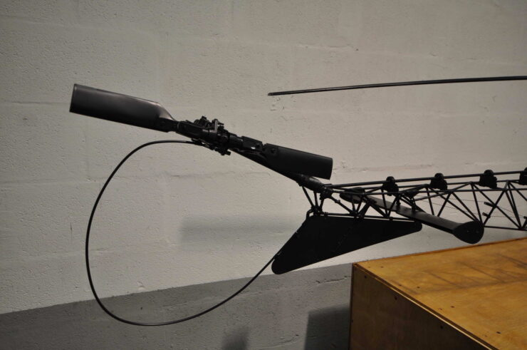 James Bond Bell 47G Model Helicopter You Only Live Twice 13