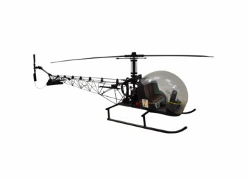 James Bond Bell 47G Model Helicopter You Only Live Twice