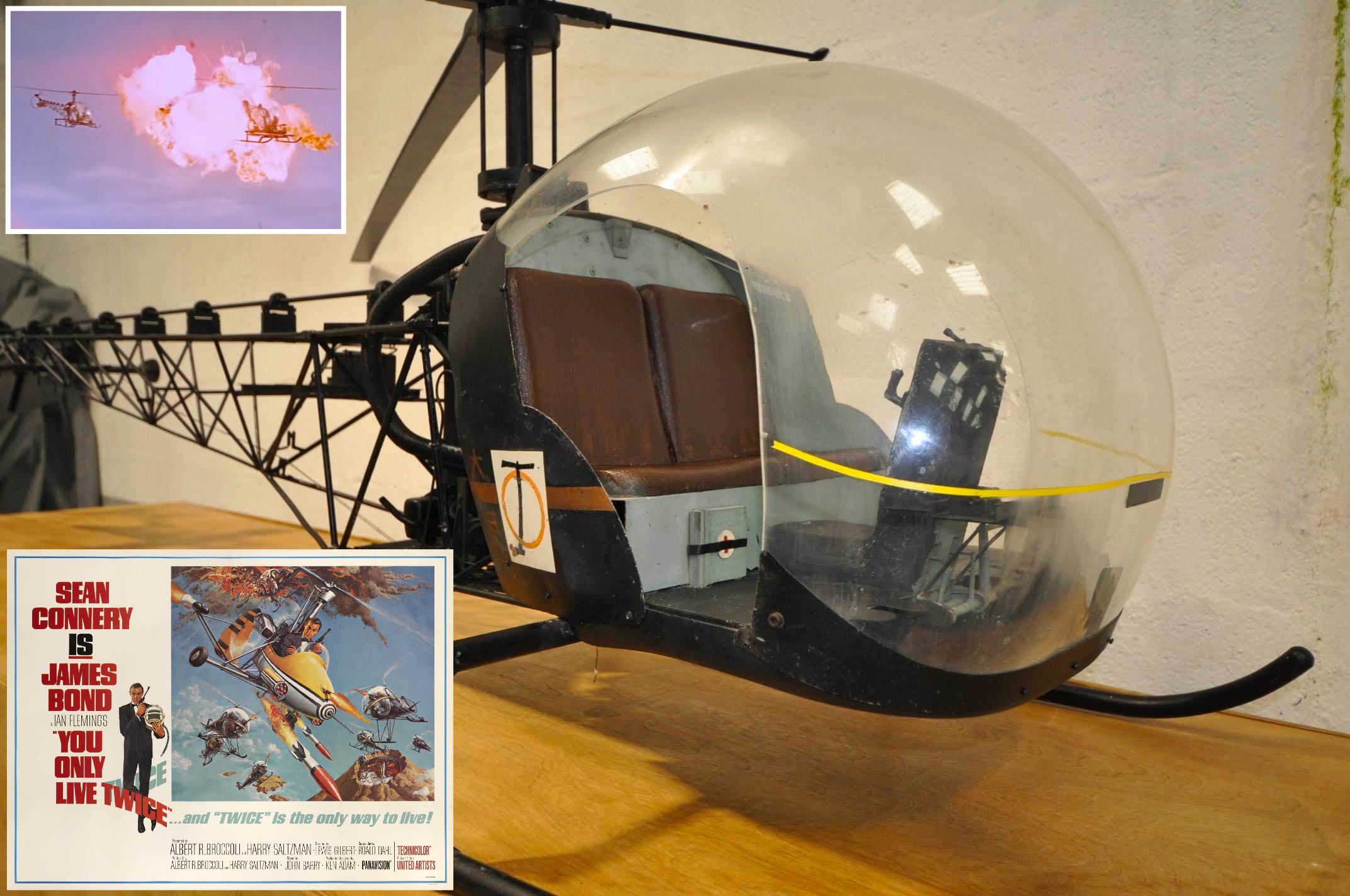 James-Bond-Bell-47G-Model-Helicopter-You-Only-Live-Twice Movie