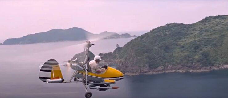 James Bond Gyrocopter