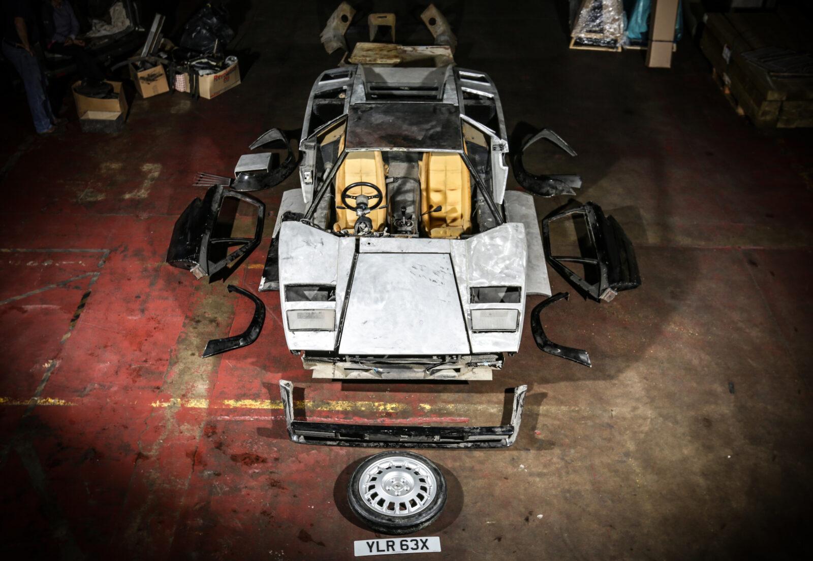 Lamborghini Countach 5000S Restoration