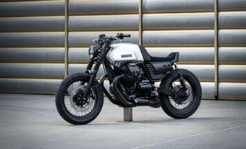Moto Guzzi V7 III Custom by Vagabund Moto