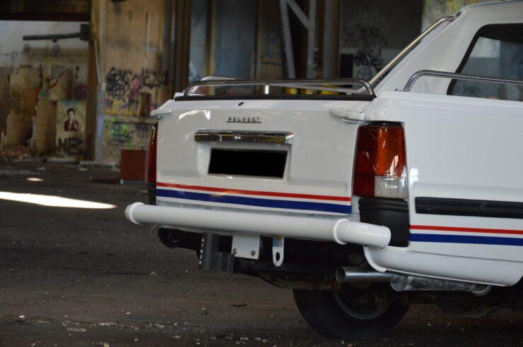 Peugeot 505 Pick-Up Double Cabine Gruau 11