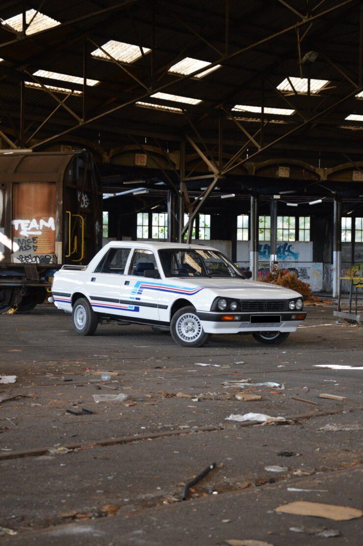 Peugeot 505 Pick-Up Double Cabine Gruau 2