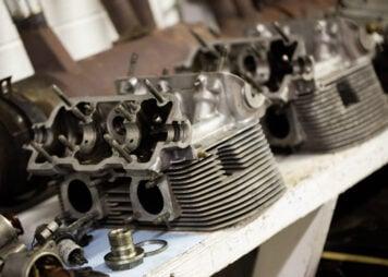 Porsche Fuhrman Four-Cam Engine