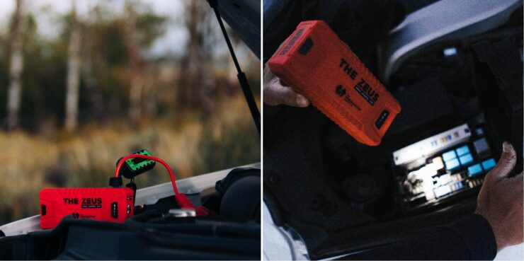 The Zeus - Power Bank + Car Battery Jump Starter by Uncharted Supply Co