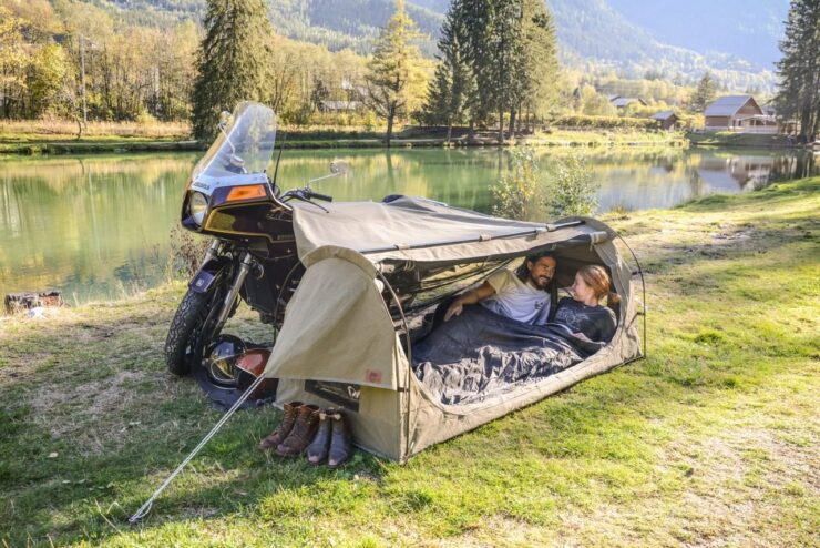 Toucan Motorcycle Tent by Wingman Of The Road 1