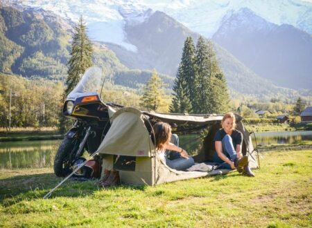 Toucan Motorcycle Tent by Wingman Of The Road 2