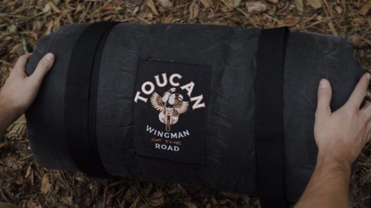 Toucan Motorcycle Tent by Wingman Of The Road 7