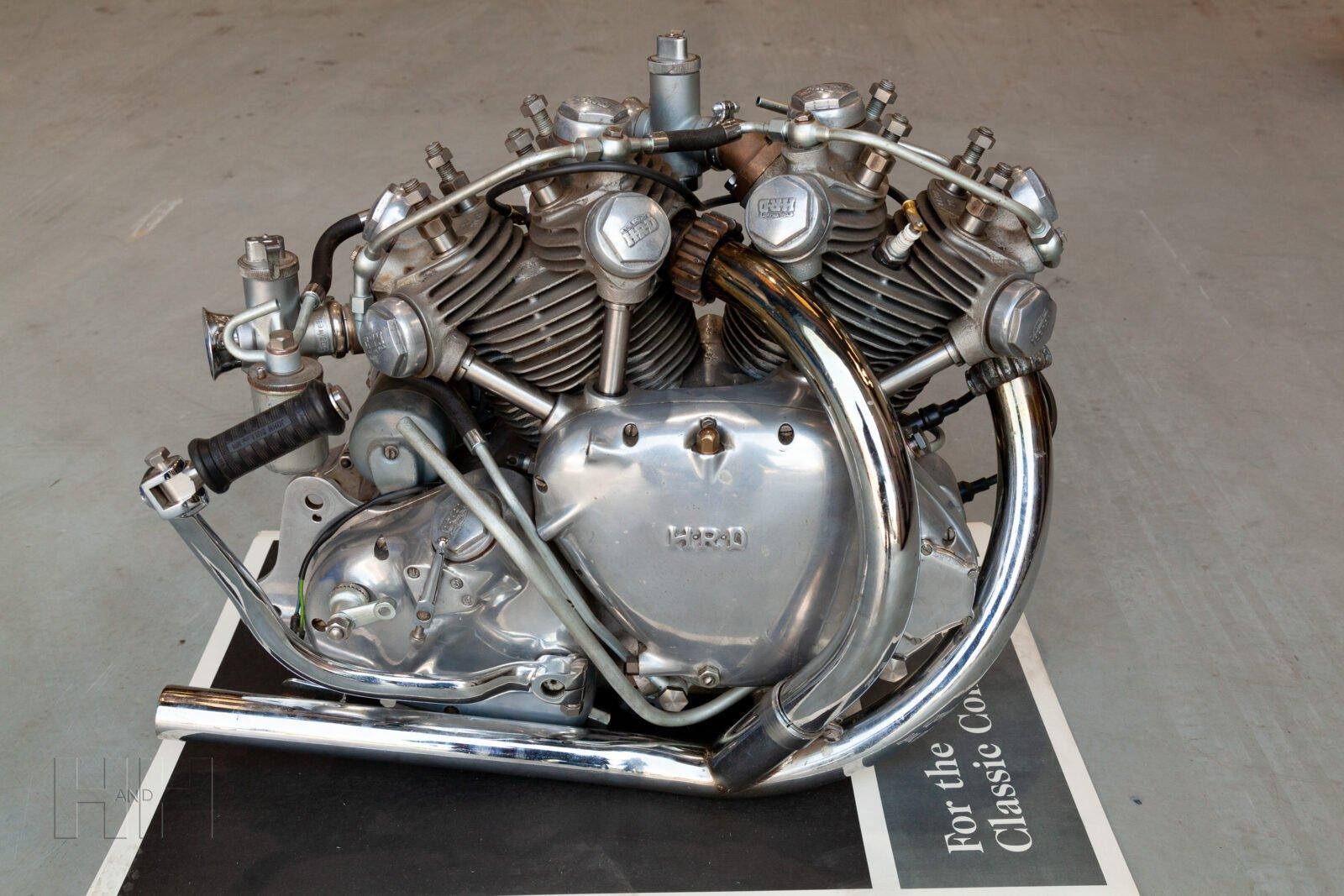 Vincent Rapide Engine